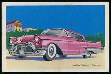 Cadillac Eldorado USA Automobile car original old 1950s Tobler postcard