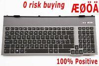 For Asus G55 G55V G55VW Keyboard Nordic Danish Norwegian Swdish Finnish Backlit