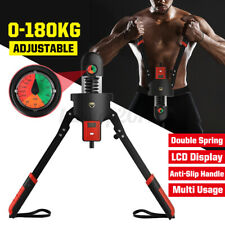 0-397Lbs Adjustable LED Display Arm Shoulder Exercise Equipment Grip Bar Builder