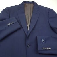 John W. Nordstrom Textured Wool Suit Separate Blazer Jacket Mens 40R Blue JWN
