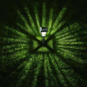 15 Lumens Gray Solar LED Path Light Set with Vintage Bulb (4-Pack)