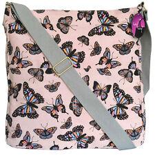 Cross Body Bag Big Handbag Messenger Long Shoulder Strap Ladies Girls Printed