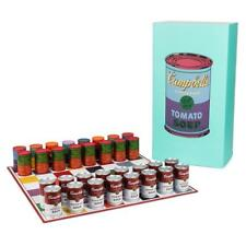 Kidrobot Andy Warhol Campbell Soup Can Chess Set Vinyl Figure