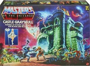 Masters of the Universe Grayskull Playset Comes with Special Edition Sorceress