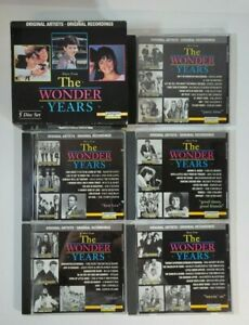 Music From The Wonder Years TV Show 5 Disc CD  Box Set by Laserlight Digital