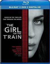 The Girl on a Train Blu-ray DVD 2016 No UV Code