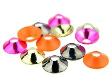 Tube fly sonic disc 6mm / various colors / 10 Stück / Fliegenbindematerialien