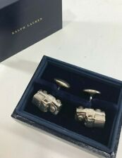 Polo Ralph Lauren - Army Jeep - Silver 925 Jewelry Cuff Links