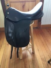 Schleese JES Advanced 17.5 Dressage Saddle MW - Brown