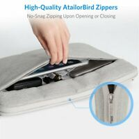 15.6Inch Laptop Notebook Handbag Sleeve Case Cover Bag For PC MacBook iPad Gray