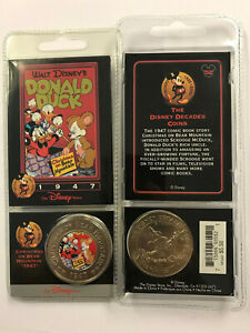 Disney Decades of Coins 1947 Comic Donald Duck & Scrooge McDuck Coin & Card #52