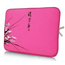 "Laptop Notebook Tablet Tasche Sleeve Hülle  Neopren 33,8cm (13,3"" Zoll) pink"