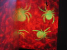 LED OUTDOOR PROJECTOR LIGHT.BLOOD RED AND GREEN SPIDER.HALLOWEEN.DISCO,PARTY.NEW