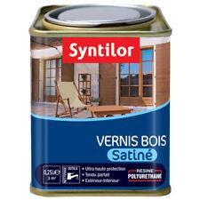 Vernis bois int/ext SYNTILOR aspect bois satiné 250ml