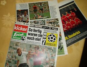 Fussball KICKER Sportmagazin No 48 1970, WM Heft, Mannschaftsfoto VFL Osnabrück