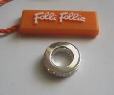 FOLLI FOLLIE Anhänger mit Kristallen für Kette oder Armband 925 Silber