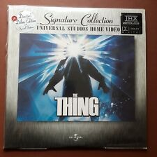 The Thing - Signature Collection - Director's Deluxe Edition - NTSC Laserdisc