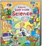 Usborne Look Inside Science by Minna Lacey (Board Book)  FREE ship $35