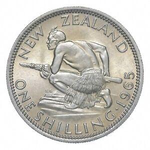 Better - 1965 New Zealand 1 Shilling - TC *932