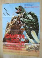 Filmplakat - Gamera gegen Jiggar ( Kon Omura , Kelly Varis , Frank Gruber )