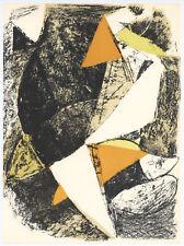 "Marino Marini original lithograph ""Horse and Rider"""