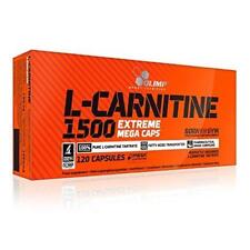 Olimp L-Carnitine 1500 Extreme Mega Caps Slimming Fat Burner 120 Capsules