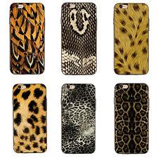 LC _ BA _ 3d leopardo Culebra Piel Animal Estampado Carcasa Funda para iPhone 7