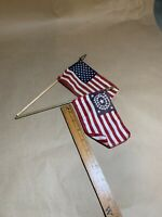 Vintage American Flags Small Display
