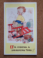 R&L Postcard: Mabel Lucie Attwell, Valentine's 5061, Childrens, Smashing Time