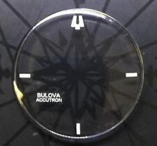 NEW 33.6 MM SPACEVIEW CRYSTAL WITHOUT TENSION RING FOR BULOVA ACCUTRON WATCH