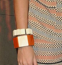 + One Small Cubes Bracelets Combo! Marni For H&M One Massive Bold Wood&Plastic
