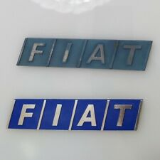 KIT Fregio emblema stemma logo targhetta FIAT panda 750 900 1000 1100 4x4 sisley