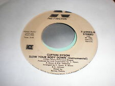 Clifton  Dyson 45 Slow Your Body Down NETWORK
