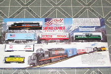 BIG Y SAVINGS EXPRESS HO SCALE TRAIN SET W/TRACK &  PACK NEW IN BOX