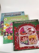 Strawberry Shortcake Vintage Record Vinyl  Kid Stuff Lot Of 3 Christmas Country
