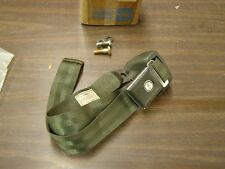 NOS OEM Ford 1966 1967 Galaxie Green Seat Belt + Retractor 500 XL LTD
