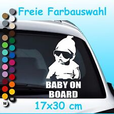 A28# Aufkleber Baby on Board Kind an Bord Hangover Sticker Auto Tuning