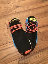 Adidas NMD Pharrell Human Race Hu Trail Inspiration Pack Black Orange US S 10