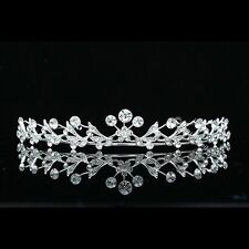 Handmade Bridal Rhinestones Crystal Prom Flower Girl Wedding Tiara 8676