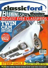 CLASSIC FORD magazine 5/05 feat. Cortina Mk3, 105E, Crayford Corsair, RS2000
