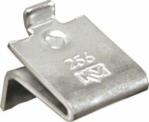 Knape & Vogt 256ZC Zinc Adjustable Shelf Support Clips, Package Contains Twenty