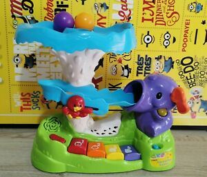 VTech Pop and Play Elephant, Interactive Electronic  Toddler Children's toy