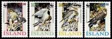 Iceland 1992 Birds, Endangered Species, The Gyrfalcon, MNH / UNM