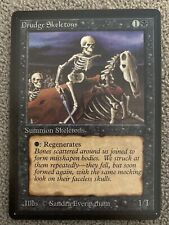 Magic The Gathering MTG Beta Drudge Skeletons - NM - Never Played