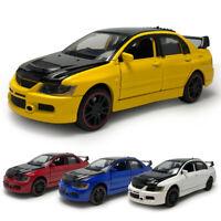 1:32 Mitsubishi Lancer EVO IX Model Car Diecast Gift Toy Vehicle Collection Kids