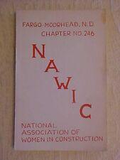 Nat'l Assoc of Women in Construction Fargo-Moorhead ND Chapter Cookbook Ethnic