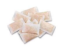 5 x 60g silica gel desiccant sachets remove moisture, reusable MADE IN UK 5