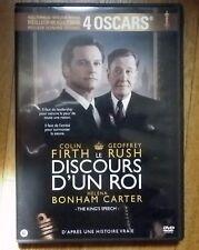 DVD le discours d'un roi Colin Firth