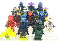 LEGO Genuine Ninjago Minifigures To Choose From Kai, Jay, Cole, Zane, Nya, ETC