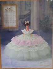 Annie Attic 1997 Royal Ballgown Barbie Fashion August Crochet Bed Doll Pattern